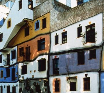 hundertwasserjeva hiša na Dunaju