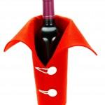 steklenica, oblečena v flis