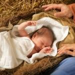 sveta noč - dojenček v zibelki