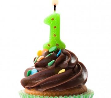 mini tortica za rojstni dan