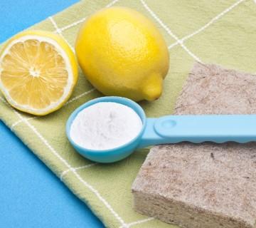 žlička sode bikarbone in limoni