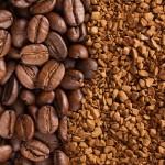 kavna zrna in instant kava