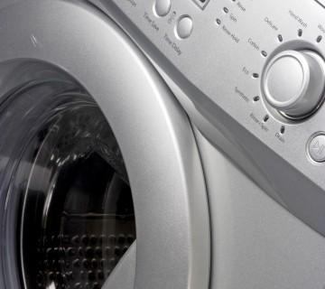 pralni stroj od blizu