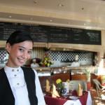 azijska natakarica v hotelu