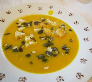 kremna bučna juha