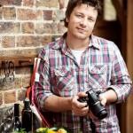 Jamie Oliver s fotoaparatom Nikon