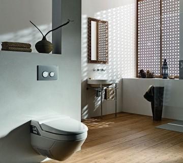 kopalnica s higienskim straniščem
