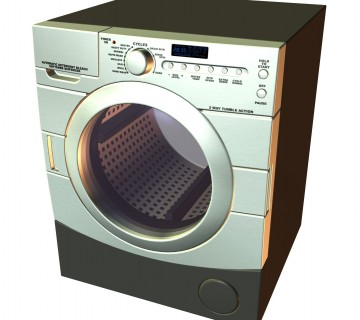 moderen pralni stroj