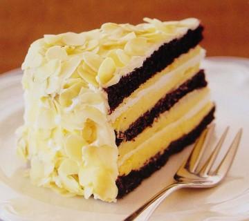 čokoladno-limonina torta
