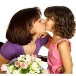 poljub mame