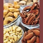 pistacije, akažu, pekani, pinjole, mandlji