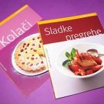 knjižici z recepti