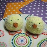 mafini v obliki piščančkov