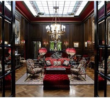 avla hotela Sacher