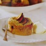 lešnikova mini tortica s slivami