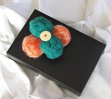 zavijanje daril - darilo z volno