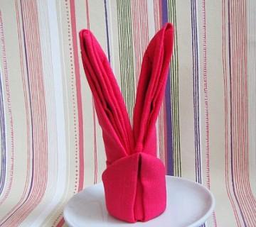 prtiček oblikovan v zajčka