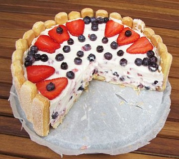 smetanova torta - načeta