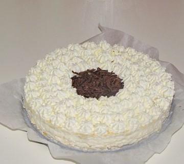 kokosova kremna torta
