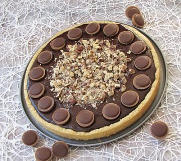 toffifee čokoladna pita