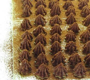 izdelava kostanjevih čokoladic