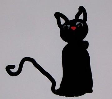 mačka iz nogavice