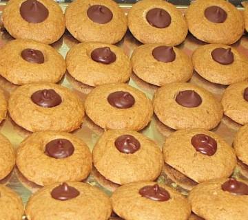 piškoti z arašidovim (kikirikijevim) maslom