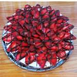 jagodna torta s smetanovo kremo