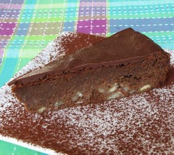 kostanjeva čokoladna torta