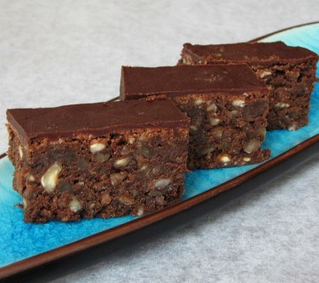 brownies s praženimi lešniki