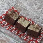 čokoladne kocke z datlji in banano
